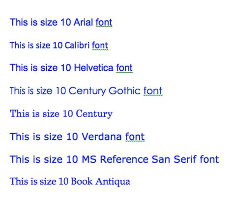 Font awesome curriculum vitae